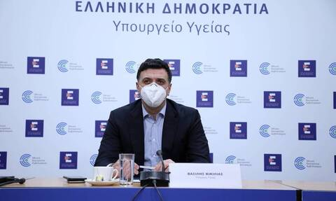 Health Min Kikilias: Any adult that wishes to get vaccinated can do so by June 30