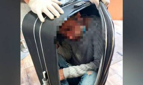 Μυτιλήνη: Κρύφτηκε μέσα σε βαλίτσα για να ταξιδέψει στον Πειραιά - Πώς τον ανακάλυψαν οι λιμενικοί