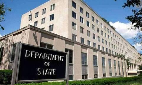 Στέιτ Ντιπάρτμεντ: Οι ΗΠΑ συνεχίζουν να στηρίζουν τις προσπάθειες του Γκουτέρες για το Κυπριακό