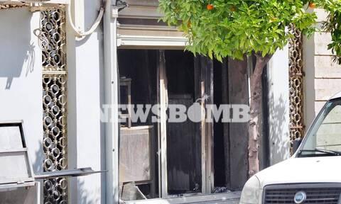 Φωτιά στη Νίκαια - Ρεπορτάζ Newsbomb.gr: Μεγάλες καταστροφές σε κατάστημα συσκευασίας κρεάτων