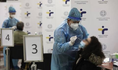Κρούσματα σήμερα: 2.155 νέα ανακοίνωσε ο ΕΟΔΥ - Στους 802 οι διασωληνωμένοι, 66 θάνατοι σε ένα 24ωρο