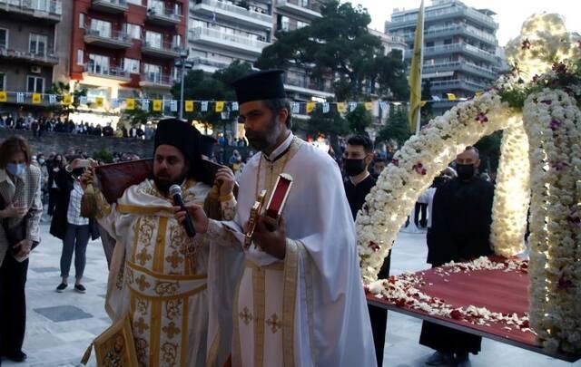 epitafios agia sofia thessaloniki