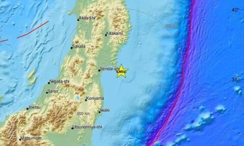 Ιαπωνία: Ισχυρός σεισμός 6,8 βαθμών ανοικτά του βορειοανατολικού αρχιπελάγους