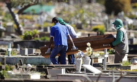 «Καλπάζει» ο κορονοϊός στη Βραζιλία: 2.656 θάνατοι νέοι νεκροί και επιπλέον 66.964 κρούσματα