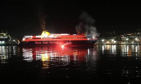 Η Ανάσταση τους βρήκε μπαίνοντας στο λιμάνι της Σύρου - Εντυπωσιακές εικόνες (vid)