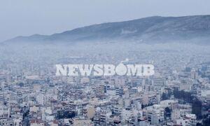Πάσχα 2021: Σε κλοιό... τσίκνας η Αττική - «Σκοτείνιασε» ο ουρανός της Αθήνας
