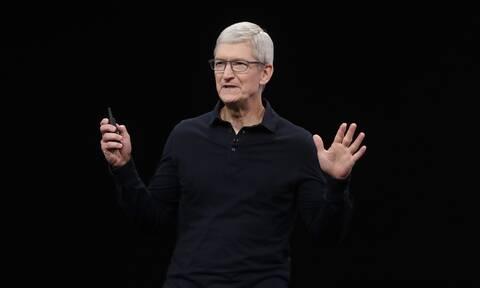 Ο Τιμ Κουκ, διευθύνων σύμβουλος της Apple