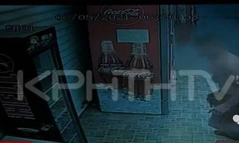 Κρήτη: Κλέφτες με μαγιό και παντόφλες ανήμερα του Πάσχα – Το βίντεο ντοκουμέντο