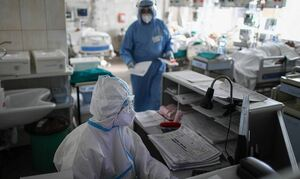 В России выявили 7 770 случаев заражения коронавирусом за сутки. Это минимум с 26 сентября