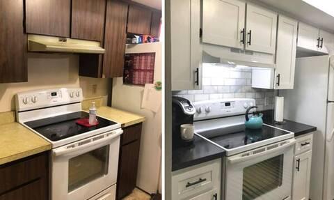 Η ανακαίνιση αυτής της κουζίνας θα σας εντυπωσιάσει