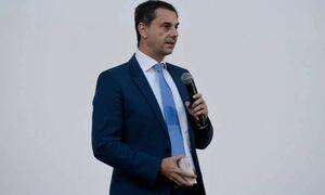 Министр туризма Греции Харис Теохарис пребывает с рабочей поездкой в Берлине