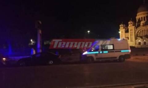 Πάτρα: Τροχαίο ατύχημα με αυτοκίνητο που εξετράπη της πορείας του - Τραυματίας ένας επιβάτης