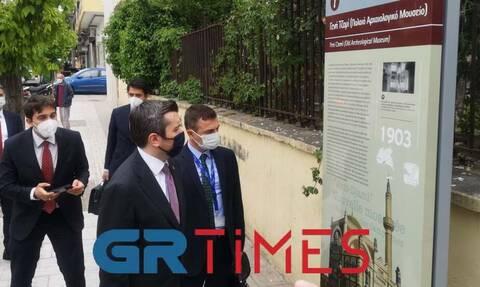 Θεσσαλονίκη: Στο Γενί Τζαμί ο υφυπουργός Εξωτερικών της Τουρκίας