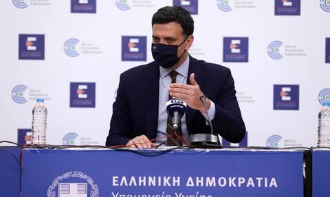 Κικίλιας: Τέλος Ιουνίου θα εμβολιάζονται όλοι οι πολίτες άνω των 18 - Αισιοδοξία για τείχος ανοσίας