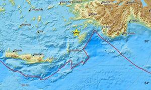 Σεισμός ΤΩΡΑ: Σεισμική δόνηση κοντά σε Ρόδο και Χάλκη - Αισθητός στα Δωδεκάνησα