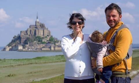 Μπλέτσας-Αστέρη: Απίστευτο σε πόσες χώρες έχει ταξιδέψει η 2χρονη κόρη τους