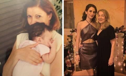 Πέμη Ζούνη: Θα εντυπωσιαστείς! Δημοσίευσε σπάνιες φώτο με την κόρη της