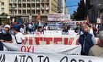 Ρεπορτάζ Newsbomb.gr: Κλειστό το κέντρο από τις συγκεντρώσεις κατά του εργασιακού νομοσχεδίου