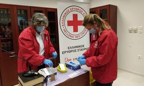 Ελληνικός Ερυθρός Σταυρός: Rapid-test στο Σύνταγμα το Σάββατο (8/5)
