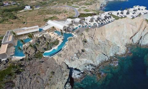 Το ελληνικό ξενοδοχείο που «κόβει» την ανάσα! (pics)