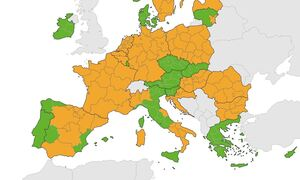Κορονοϊός - Τι αποκαλύπτει ο χάρτης ECDC: Σταθερά στο πράσινο ο δείκτης θετικότητας