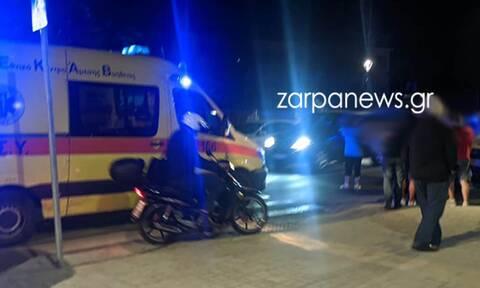 Χανιά: Μηχανή παρέσυρε δύο γυναίκες - Αναστάτωση στο κέντρο της πόλης
