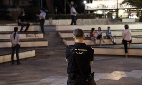 Αγία Παρασκευή - Lockdown: Αστυνομική επιχείρηση στην πλατεία Αγίου Ιωάννου (pics)