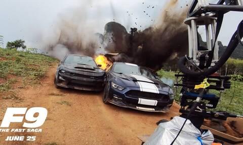 Το Fast and Furious 9 τα σπάει. Στην κυριολεξία! (vid)
