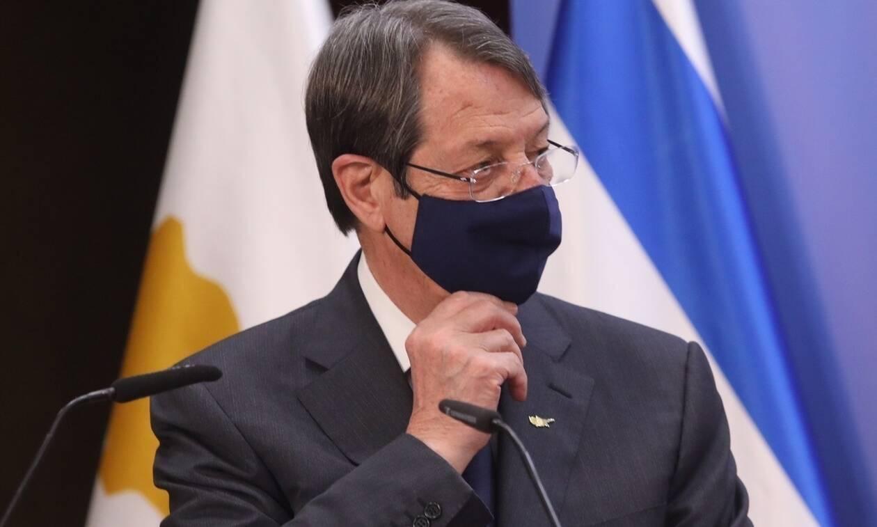 Αναστασιάδης: Η Ευρώπη δεν δέχεται ως λύση στο Κυπριακό αυτό που προτείνει η Τουρκία
