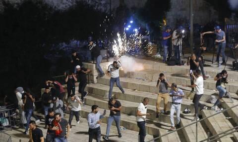 «Έντονη ανησυχία» ΟΗΕ, ΕΕ, ΗΠΑ και Ρωσίας για τη βία στην Ιερουσαλήμ
