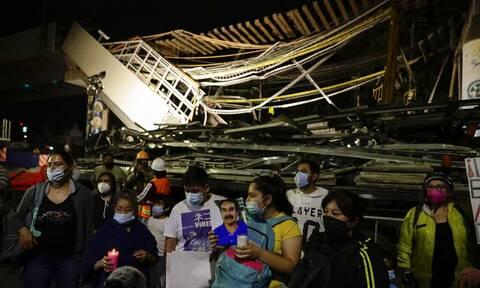 Μεξικό: Αποζημιώσεις στους συγγενείς των θυμάτων του δυστυχήματος στο μετρό
