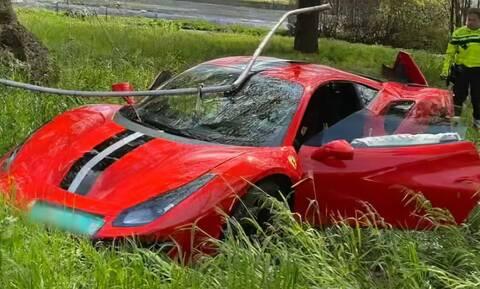 Δείτε πως μπορεί να καταστρέψει κανείς μία Ferrari 488 Pista! (vid)