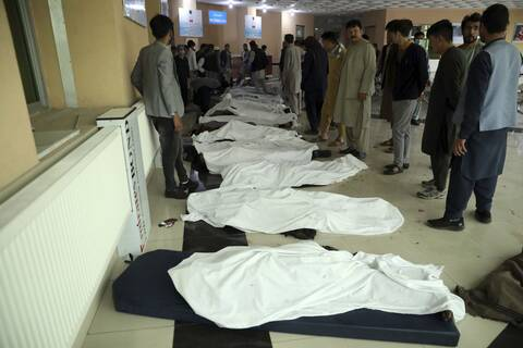 Φρίκη στο Αφγανιστάν:  Δεκάδες νεκροί μαθητές από επιθέσεις κοντά σε σχολείο  στην Καμπούλ