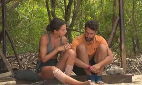 Survivor: Ο Σάκης Κατσούλης «γλυκοκοιτάζει» τη Νικολέττα