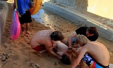 Χανιά: Κινδύνεψε 21χρονος σε παραλία - Σωτήρια η επέμβαση των ναυαγοσωστών
