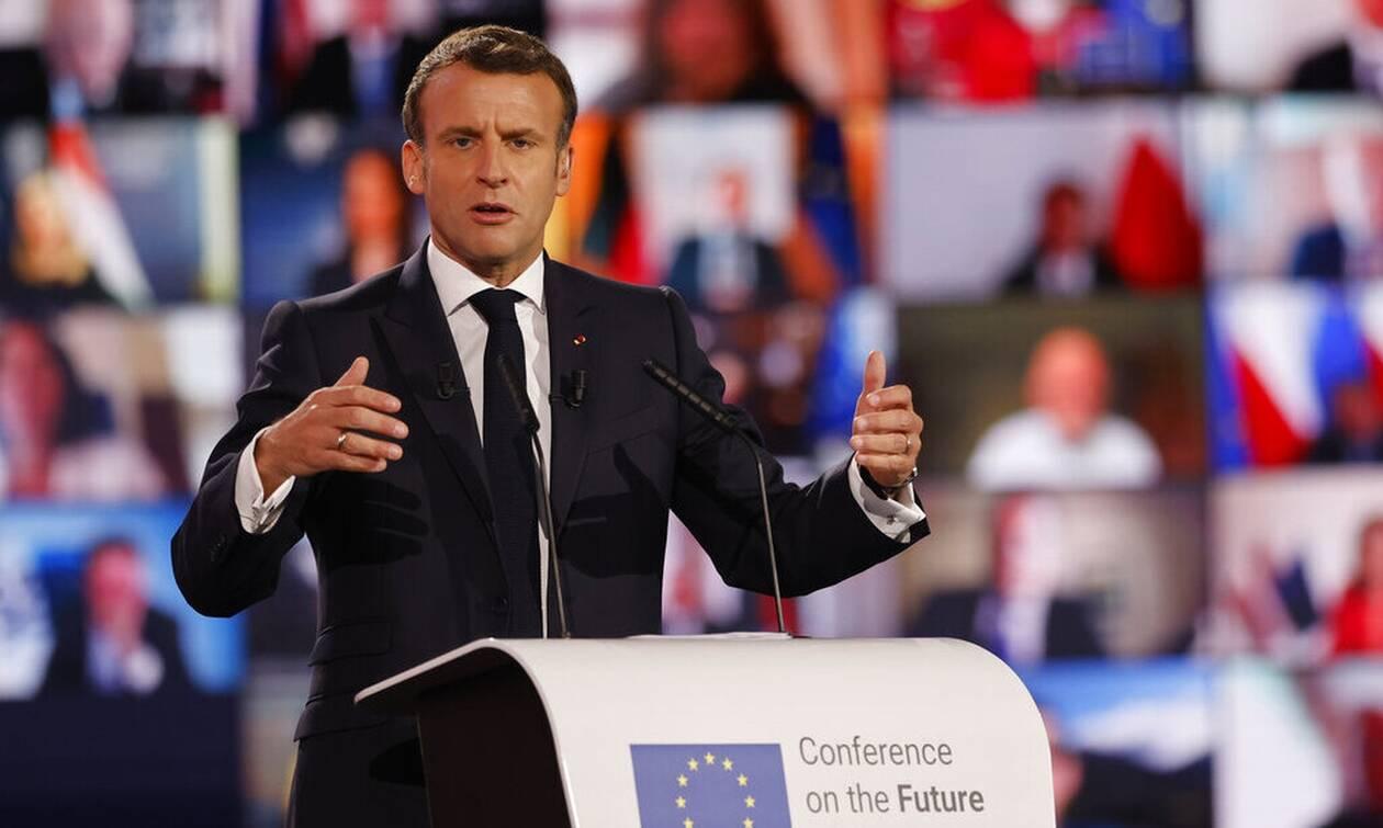 Στρασβούργου: Yπέρ μιας πιο ευέλικτης Ευρώπης τάχθηκε ο Μακρόν