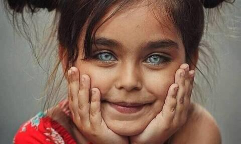 Ομορφιά που κρύβεται στα μάτια των παιδιών