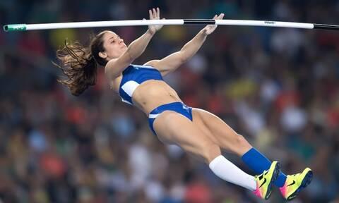 Θρίαμβος για την Κατερίνα Στεφανίδη στο Λος Άντζελες - Επιστροφή στα μεγάλα άλματα με 4.80μ