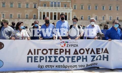 ΣΥΡΙΖΑ: Τα ψέματα της Νέας Δημοκρατίας για τα εργασιακά - Καταργούν το 8ωρο, μειώνουν τους μισθούς