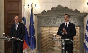 Οικονομικό Φόρουμ Δελφών - Μητσοτάκης: Η Ελλάδα δεν επιτρέπει σε κανέναν να την απειλεί