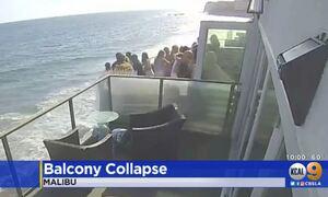 Τρομακτικό ατύχημα στις ΗΠΑ: Η στιγμή της κατάρρευσης μπαλκονιού – 9 οι τραυματίες (vid)