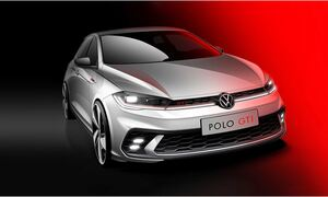 VW Polo GTI: Το πρώτο σκίτσο της νέας εκδοχής του