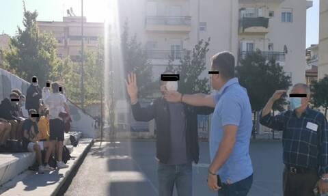 Θεσσαλονίκη: Ένταση σε κατάληψη στον Εύοσμο - Πατέρας μαλώνει με μαθητές (vid)