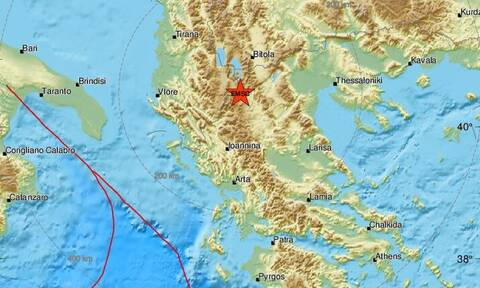 Σεισμός στην Καστοριά - Έτσι κατέγραψαν τα Ρίχτερ οι σεισμογράφοι