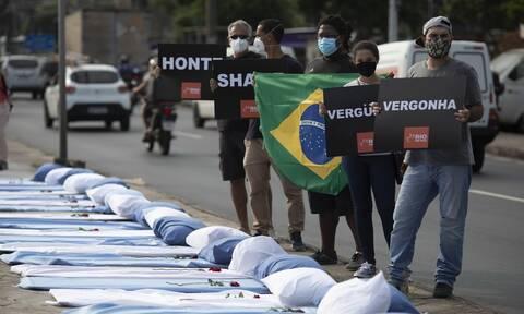 Κορονοϊός στη Βραζιλία