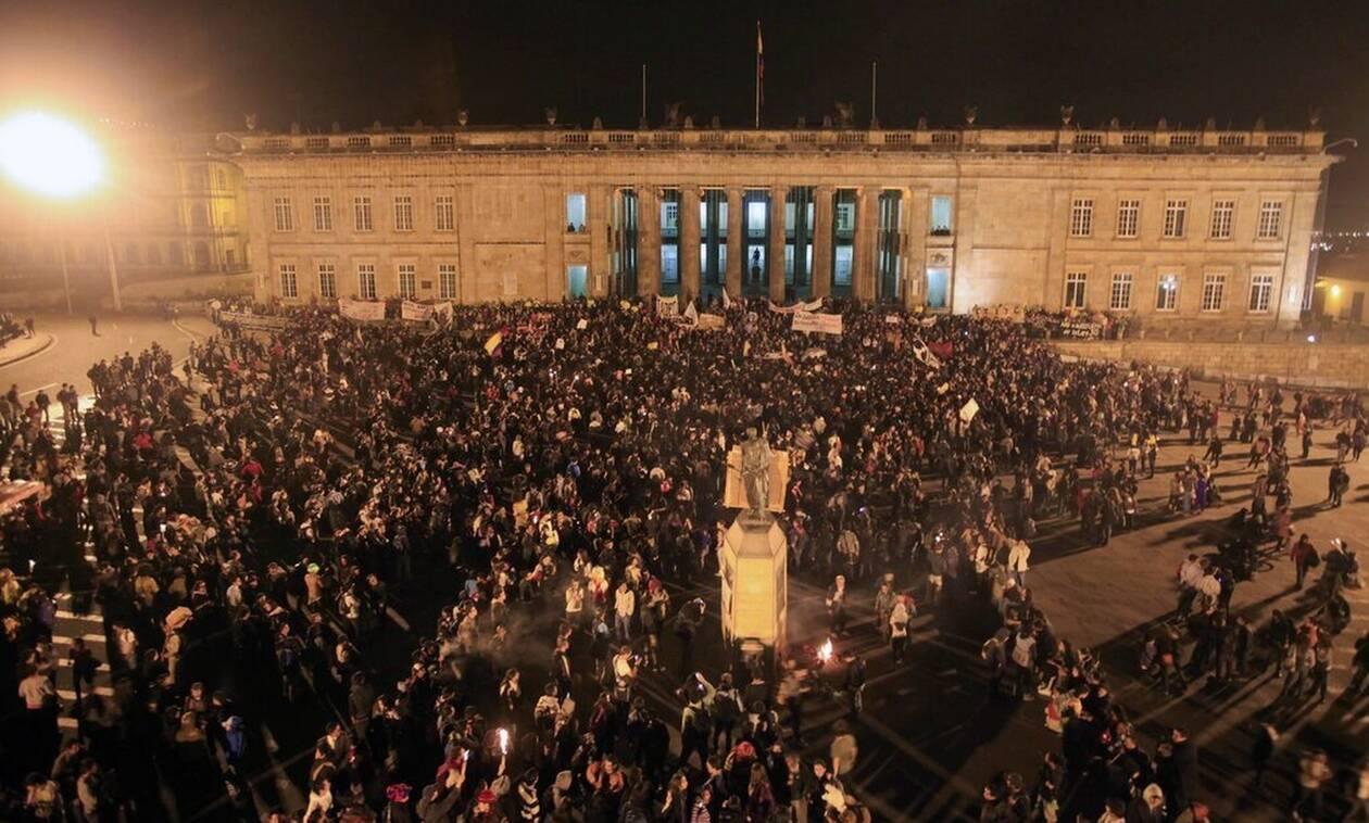 Κολομβία: Δεκάδες νεκροί στις 13 ημέρες αντικυβερνητικών διαδηλώσεων