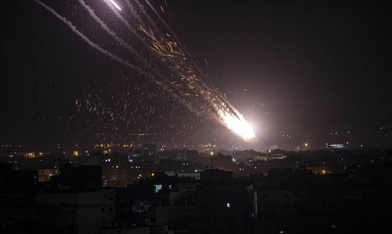 Ισραήλ: Επίθεση της Χαμάς με 110 ρουκέτες στο Τελ Αβίβ
