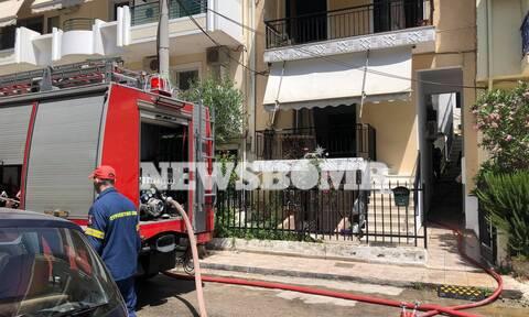 Τραγωδία στο Χαϊδάρι: Νεκρή ηλικιωμένη από φωτιά σε διαμέρισμα