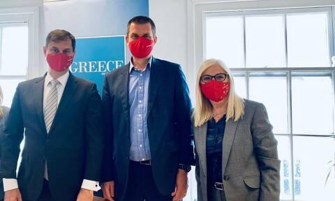 Θεοχάρης από το Ηνωμένο Βασίλειο: «Ο Ελληνικός Τουρισμός ξέρει να δίνει μάχες και να τις κερδίζει»