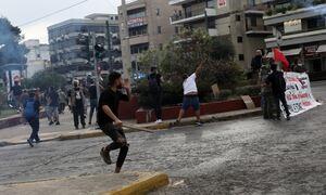 Επεισόδια έξω από την ισραηλινή πρεσβεία: Πετροπόλεμος και χημικά - Έκλεισε η Λεωφόρος Κηφισίας
